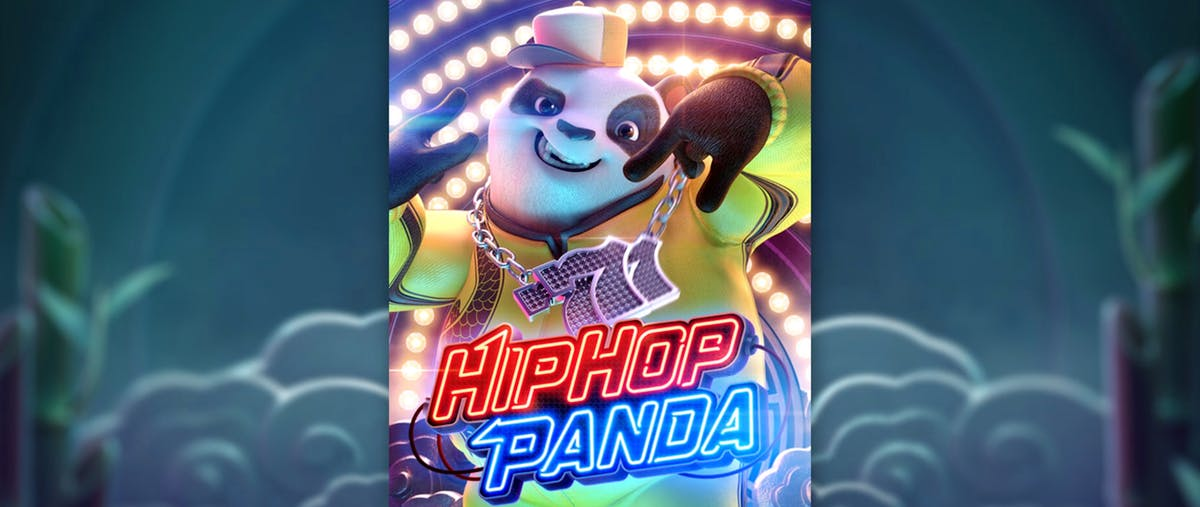 HIPHOP PANDA เกมส์พนันสล็อตออนไลน์ที่ได้รับความนิยมอย่างมาก